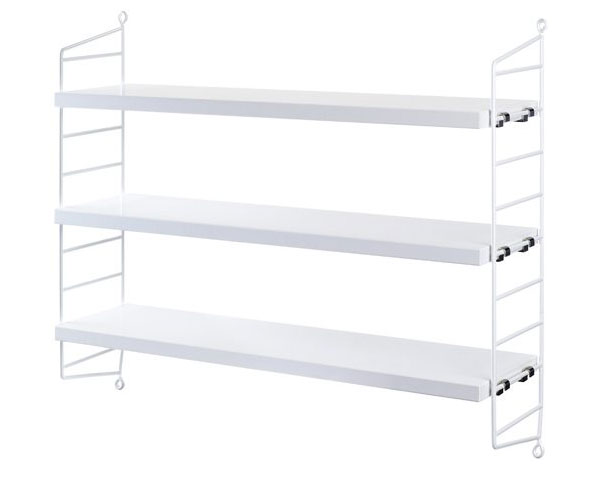 Vit Kökshylla funderingar Kökshylla från Ikea Hemtrender