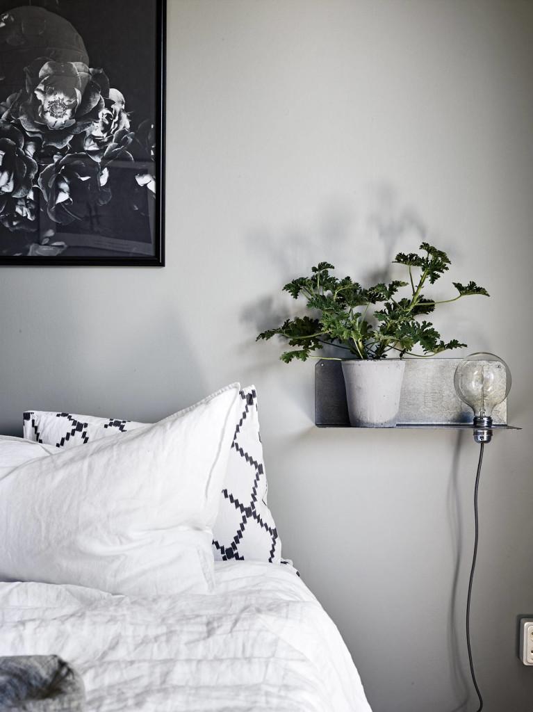 gråmålade väggar