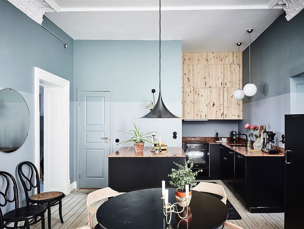 Lekfullt och elegant hem