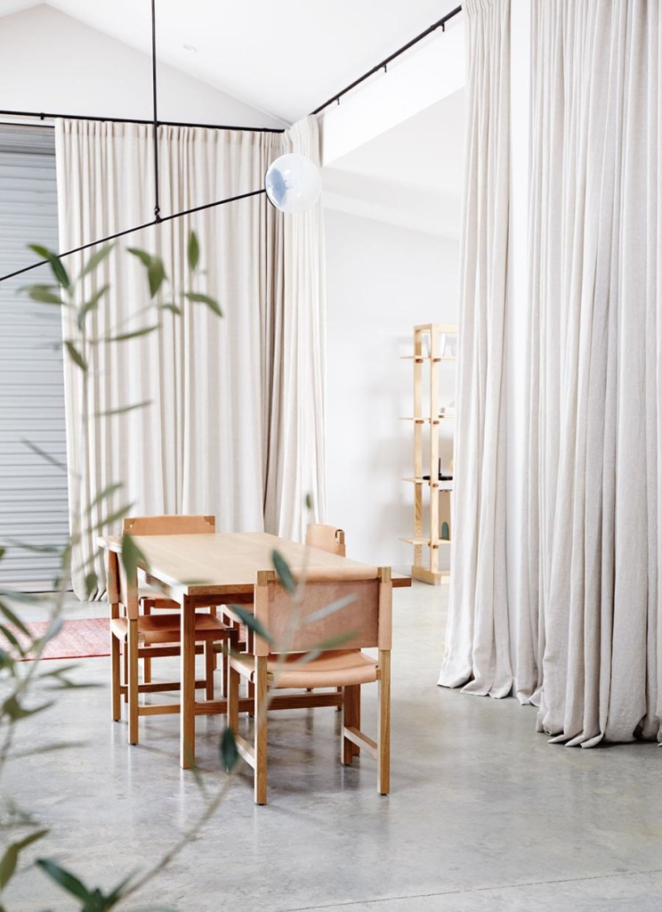 Ljust och minimalistiskt