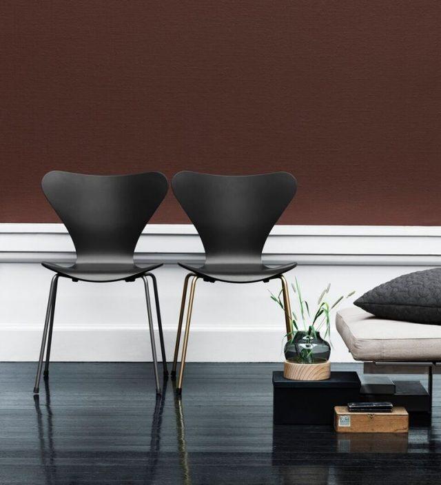 Fritz Hansen ikoniska Sjuan-stol i specialutgåva