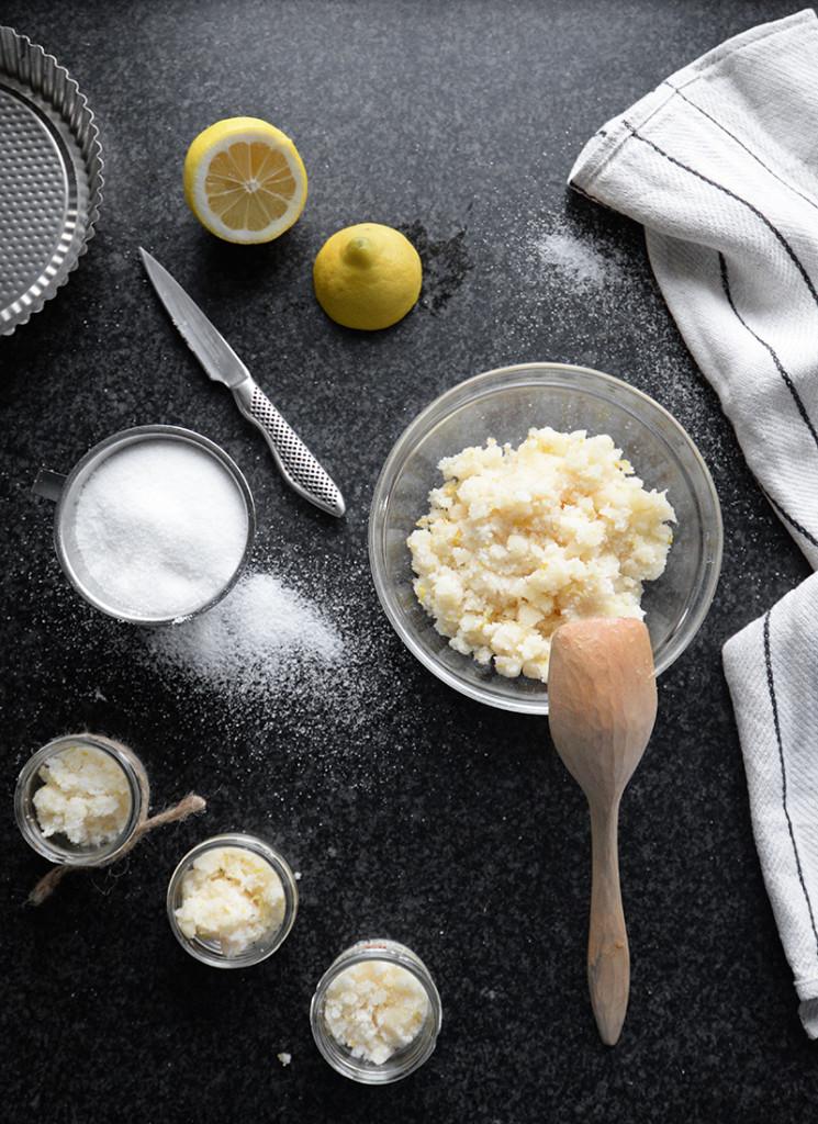 Kroppsskrubb med citron
